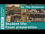 學生生活:準備考試 (Student Life – Exam preparation) Image