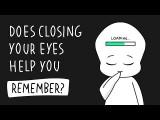 閉上眼睛有助於回想事情嗎? (Does Closing Your Eyes Help You Remember Things Better?) Image