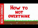 如何停止過度思考? (How to Stop Overthinking | The Easy Way!) Image