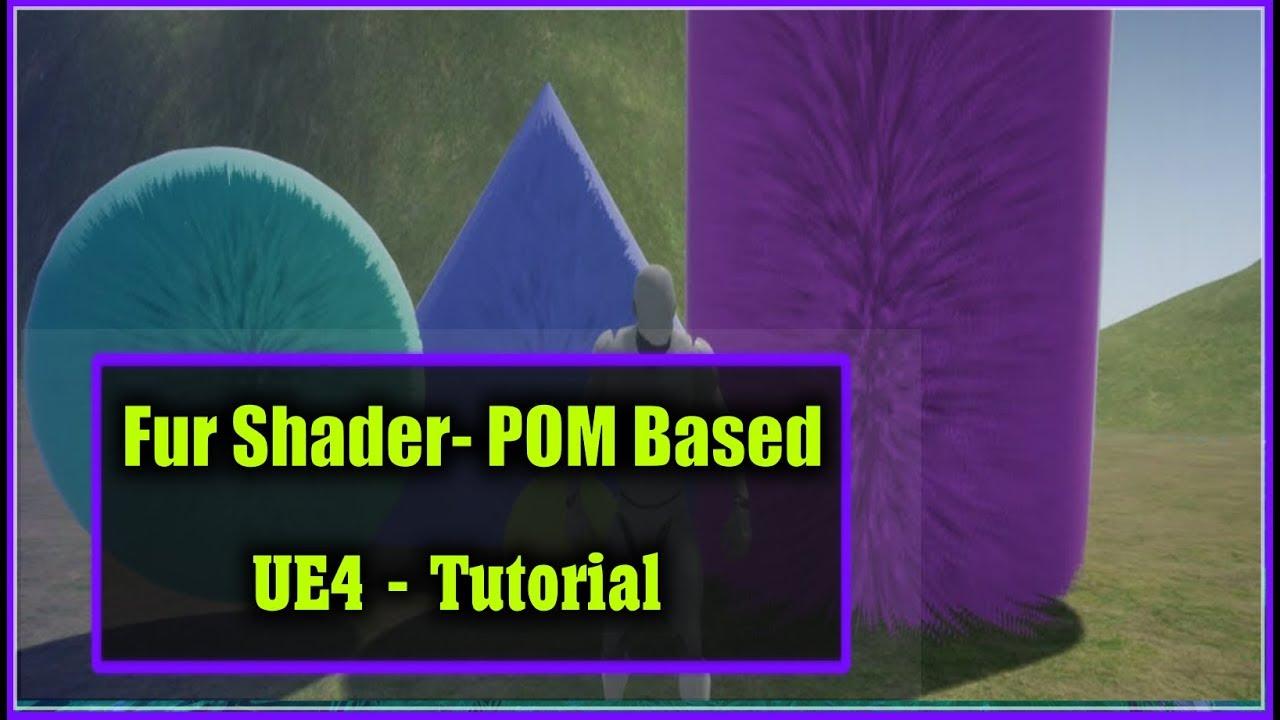 unreal engine 4 fur material tutorial voicetube