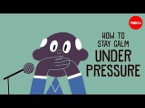 【TED-Ed】在壓力超大時如何維持冷靜 (How to stay calm under pressure - Noa Kageyama and Pen-Pen Chen) Image