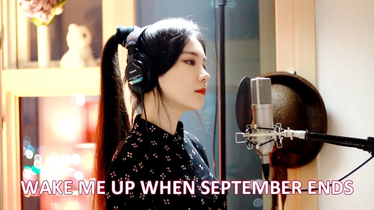 video wake me up when september ends