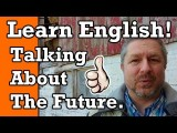 英語學習:談論未來 (Learn English: Talking About the Future) Image