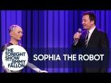 吉米與機器人索菲亞合唱「說點什麼吧」 (Sophia the Robot and Jimmy Sing a Duet of 'Say Something') Image