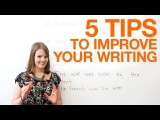 五個增進英文寫作技巧的方法! (5 tips to improve your writing) Image