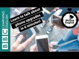 BBC 六分鐘英文 - 六分鐘聊聊手機升級 (Learn to talk about mobile phone upgrades in 6 minutes) Image