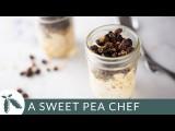 肉桂葡萄乾隔夜燕麥_超方便早餐食譜 (Cinnamon Raisin Overnight Oats Recipe | A Sweet Pea Chef) Image