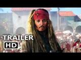 加勒比海盗 (PIRATES OF THE CARIBBEAN 5 Official Trailer # 3 (2017) Dead Men Tell No Tales, Disney Movie HD) Image