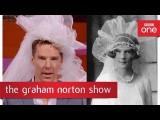 為什麼班尼迪克·康柏拜區是時空旅行者 (Benedict Cumberbatch recreates a photo of a 1920s bride - The Graham Norton Show: BBC One) Image
