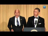 超搞笑!歐巴馬總統的憤怒翻譯員 (President Obama's Anger Translator at the 2015 White House Correspondents Dinner) Image