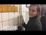 艾瑪華森為什麼在紐約地鐵偷偷藏了幾本書? (Emma Watson Hides Books Around the New York City Subway | Vanity Fair) Image