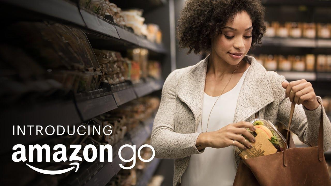 アマゾンGOを紹介-世界最先端の買い物テクノロジー(Introducing Amazon Go and the world's most  advanced shopping technology) - ボイスチューブ (VoiceTube)《動画で英語を学ぶ》
