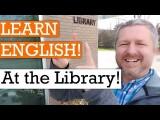 一起在圖書館學英文吧! (Let's Learn English at the Library | English Video with Subtitles) Image