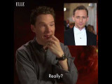 班尼迪克模仿他的【復仇者】同事們 (Benedict Cumberbatch Does Impressions of His Co-Stars) Image