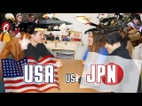 看日本人和美國人體力對決! (JAPAN vs USA: Physical Challenges【YouTube Olympics ROUND 1】) Image
