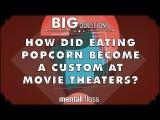 長知識~為什麼在電影院一定要吃爆米花?(How did eating popcorn become a custom at movie theaters?) Image