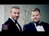 超爆笑!柯登和貝克漢一起來面試 007 啦! (The Next James Bond - David Beckham v James Corden) Image