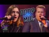 安海有嘻哈!見證安海瑟薇用rap嗆翻主持人!(中英字幕)(Drop the Mic w/ Anne Hathaway) Image