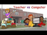 【雅思速成班】科技議題:老師和電腦誰比較重要?(IELTS - Technology - Teacher vs Computer) Image