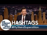【今夜秀】#我的超古怪迷信 (Hashtags: #MyWeirdSuperstition) Image
