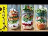 沙拉帶著走-傑米奧利弗教你做美味沙拉罐 (Healthy Jam Jar Salads | Jamie Oliver) Image