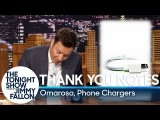 【吉米秀】我「真的」非常感謝你:吉米親手寫感謝卡 (Thank You Notes: Omarosa, Phone Chargers) Image