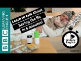 6分鐘學會流感相關英文 (Learn to talk about having the flu in 6 minutes) Image