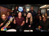 【ザ・トゥナイト・ショー】メーガン・トレイナー「オール・アバウト・ザット・ベース〜わたしのぽちゃティブ宣言」Jimmy Fallon, Meghan Trainor & The Roots Sing 'All About That Bass' (w/ Classroom Instruments) Image