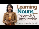 別再用錯了!集合名詞和不可數名詞! (Learning Nouns ( Collective & Uncountable Nouns) - Basic English Grammar Lessons) Image