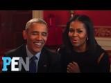 歐巴馬夫婦回答孩子們的超萌問題 (President Obama & Michelle Obama Answer Kids' Adorable Questions | PEN | Entertainment Weekly) Image