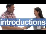 如何做自我介紹 (How to Introduce Yourself -- American English Pronunciation) Image
