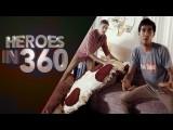 【虛擬實境】日常生活裡的英雄!真想要有這種超能力啊 (Heroes in 360) Image