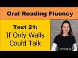 英文口語訓練:流利英文練習 (Oral Reading Fluency 21 - 'If Only Walls Could Talk' - English Vocabulary & Pronunciation Image