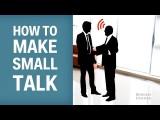 超實用!如何和人搭話三大技巧 (How To Make Small Talk) Image