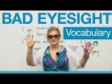 近視相關的生字 (English Vocabulary - Bad Eyesight: glasses, contacts, optometrist, eye doctor...) Image