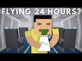 搭飛機搭到怕!坐了 24 小時的飛機會怎麼樣呢? (What Would a 24 Hour Flight Do To Your Body?) Image