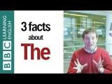 最熟悉也最陌生!「the」到底怎麼用? (3 Facts about 'The': English In A Minute) Image