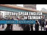 台北人英文真的超強?這部影片告訴你!(中英字幕) (Do They Speak English In Taiwan?) Image