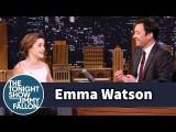 【ザ・トゥナイト・ショー】まさかの人違い!エマ・ワトソンの恥ずかしい瞬間 (Emma Watson Once Mistook Jimmy Fallon for Jimmy Kimmel) Image