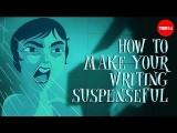 【TED-ed】如何創作出懸疑作品 (How to make your writing suspenseful - Victoria Smith) Image