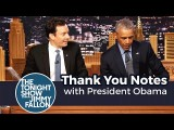 【吉米秀】歐巴馬的卸任感謝信 (Thank You Notes with President Obama) Image