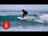 點亮夜晚的衝浪板 (Surfing the Night, Lighting Up the Waves) Image