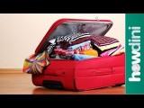 【旅行】スーツケースの詰め方のコツ12選 (12 Travel Packing Tips: Howdini Hacks) Image