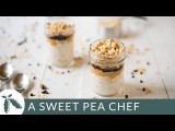巧克力花生醬隔夜燕麥_超方便早餐食譜 (Chocolate Peanut Butter Overnight Oats    A Sweet Pea Chef) Image